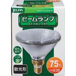 Outdoor beam bulb (beam lamp) diffuser shape