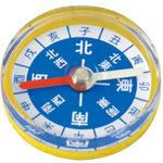 Colorful compass magnet 30phi