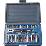 3 / 8DR inch socket wrench set