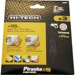# 120 mesh sand paper (3 pieces / Φ125mm)