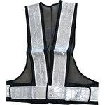 Smatch! Safety mesh vest with reflective tape