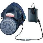 Respirator for breathing with electric fan Sakai type BL-200S