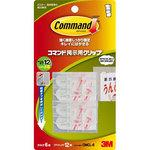 Command posting clip 6 pieces tab S 12 sheets