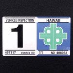 Hawaii inspector Ted sticker