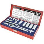 16/4 Socket Wrench Set 3/8DR
