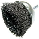 Shank Wheel Brush Mounted