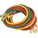 Charging Hose 3pc, Red, Yellow, Green