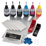 Canon BCI-7e 9BK Compatible Refill Ink 5 Colors and Deditcated Tool Set
