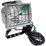 Halogen Work Light 500W,With Strong Forged Vise And Electrical Ground
