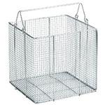 Stainless Steel, Washing Basket, Squareuare Shaped