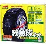 Light car dedicated emergency service net (non-metallic tire chain)