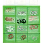 Oil pan drain packing set for foreign cars