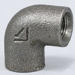 Elbow Malleable Cast Iron Pipe Fitting (Black)