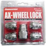 Bag Lock Nut Set, Ax-Wheel Lock