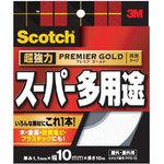 Super Strong Double-Sided Tape Premium Gold, Super Multi Purpose,