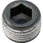 Hexagon socket head taper screw plug float (structural carbon steel / DRY seal) (pack product)