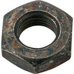Hex nut three other subdivision (iron / trivalent black) (pack product)