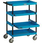 Tool wagon best side handle four-stage sliding shelf with plate
