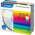 DVD-R for one time recording 4.7GB 1-16 times speed