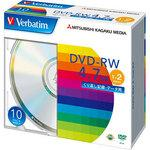 DVD-RW 4.7 GB for repeated recording 1-2 times speed