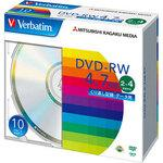 DVD-RW 4.7 GB for repeated recording 2 - 4 times speed