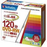 DVD-RW CPRM compatible Repetitive recording for 120 minutes 1-2 times ink jet printer compatible