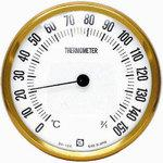 Thermometer for dry sauna