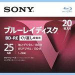 Blu-ray Disc BD-RE repeatedly for recording