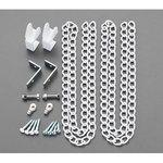 18-19mm for hanging chain set (white)