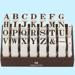 Endless Stamp English Alphabet Set