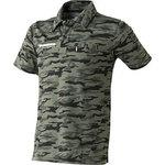 Camouflage short-sleeved polo shirt