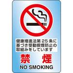 JIS standard safety sign (transparent sticker)