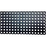 Perforated rubber mat (articulated)