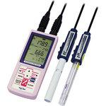 Portable electric conductivity , pH meter