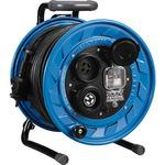 200V type outdoor reel three-phase 200V rainproof type with earth leakage breaker 3.5 scale 30m