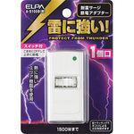 Power-saving adapter 1P with surge