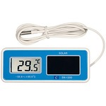 Waterproof Solar digital thermometer (refrigerator, heating cabinet)