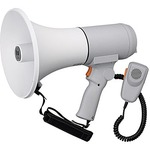 Shoulder megaphone 15W with handle