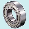 Deep groove ball bearing 6300 series ZZNR / 2AS