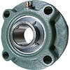 Flange with brazed round flange type unit lubrication type