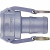 Lever lock coupler socket LC type (for hose mounting)
