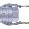 Lever lock coupler socket (for male screw mounting)