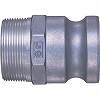 Lever lock coupler plug LF type (for female thread mounting)