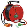 Indoor Single Phase 100V Grounding Outlet Cord Reel
