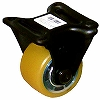 Rigid Caster, Urethane, With Ball B, Wheel, for Low-Floor Heavy Loads