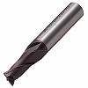 2 blade violet end mill short blade
