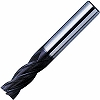 4 blade violet end mill medium blade