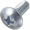 Truss Head Machine Screw, Iron / Uni-Chromium