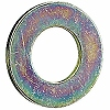 Flat Washer Small Size, Iron/Chromate