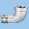 Street Elbow Stainless Steel Made Threaded Pipe Joints
